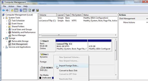 disk management system