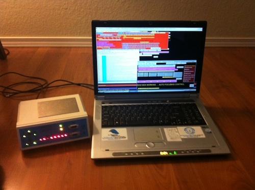 "The Quantum Biofeedback SCIO and the 17"" Quantum Computers Laptop (model# QC5714)"