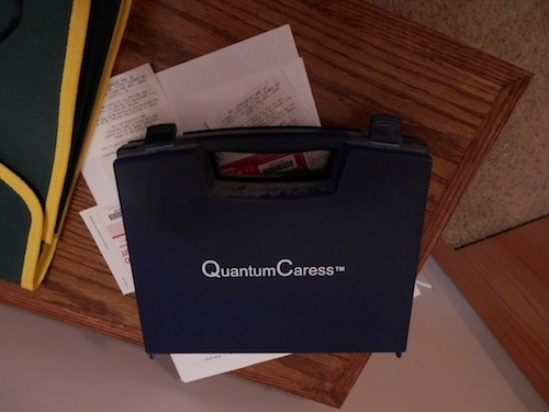 One of the two (2) QuantumCaress kits included in this SCIO package