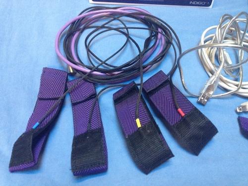 Original Indigo wrist/ankle straps