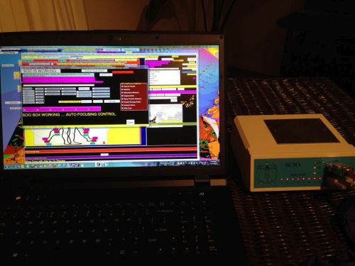 "System 22: Quantum Biofeedback SCIO with a beautiful 17"" 2013 Quantum Computers Laptop"