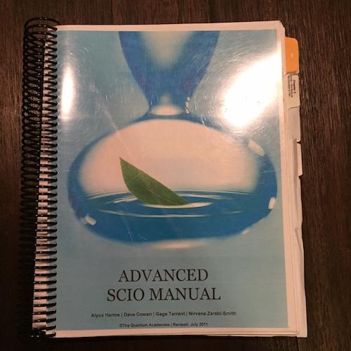 Advanced SCIO Manual by The Quantum Academies