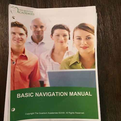 The Basic Navigation Manual by The Quantum Academies