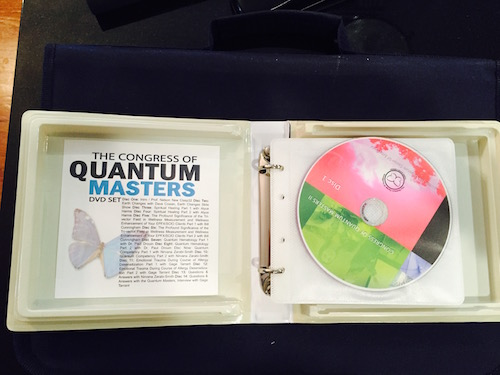 The Congress of Quantum Masters DVD set (14 DVDs)
