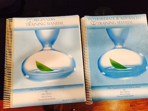 The Beginners Training Manual & the Intermediate and Advanced Training Manuals by The Quantum Center of Excellence