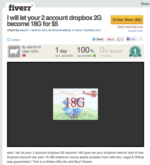 How to Max Out Your Dropbox Account to 18GB in Less 15 Than